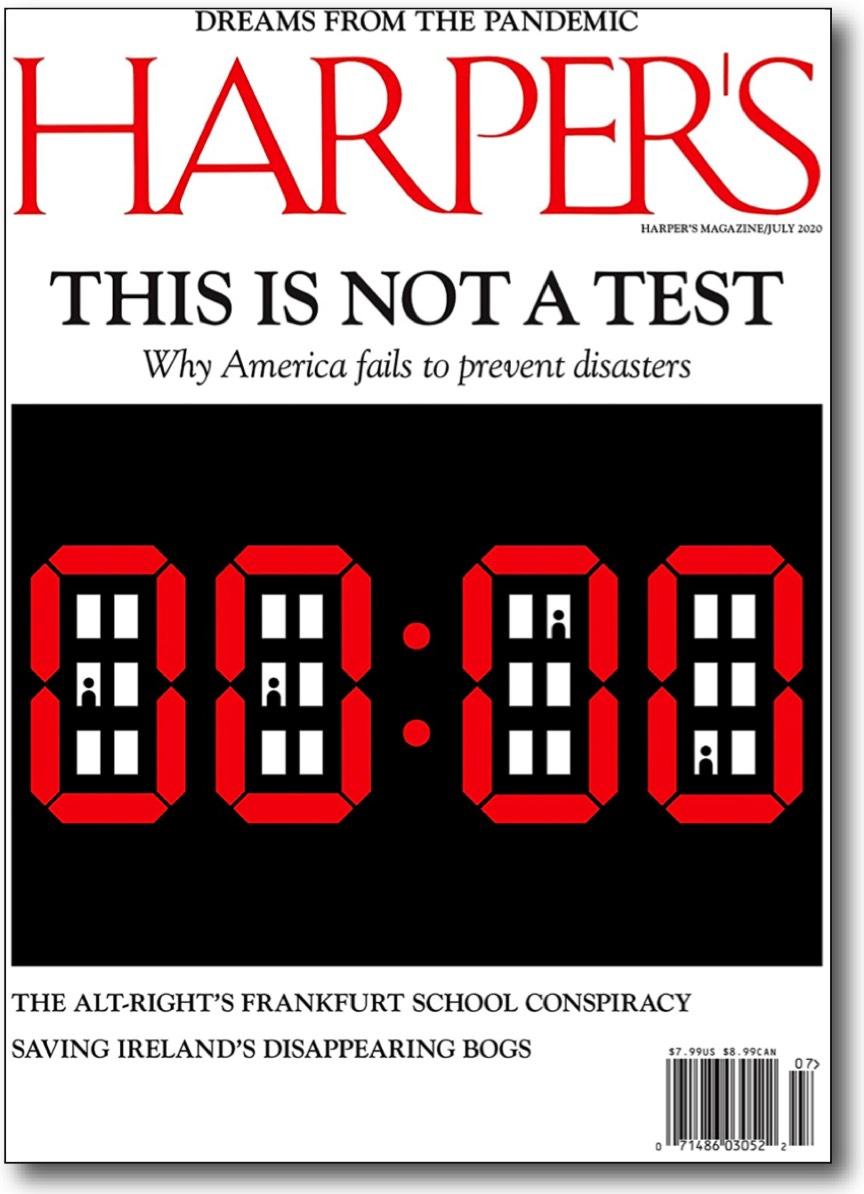 Harpers Magazine-carta derecho discrepar